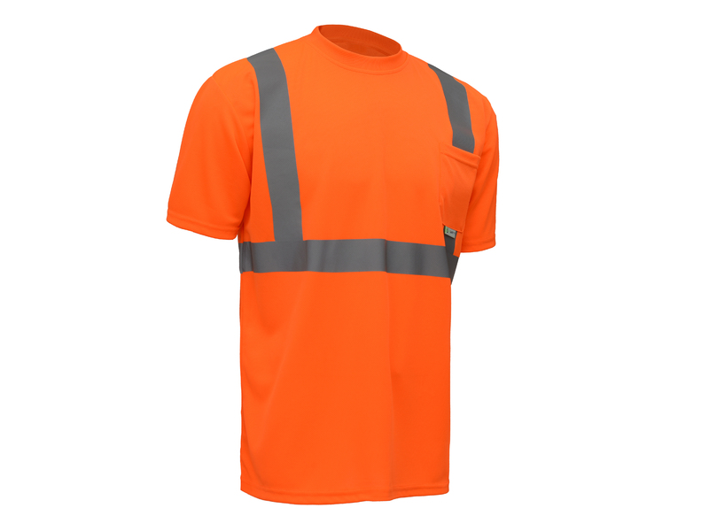 ANSI Class II Economy Short Sleeve Safety T-Shirt