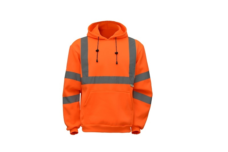 ANSI Class III Hooded Pullover Safety Sweatshirt
