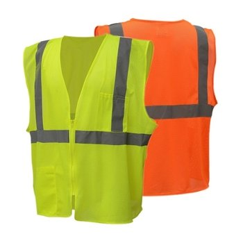 ANSI Class II Self Extinguishing Economy Safety Vest